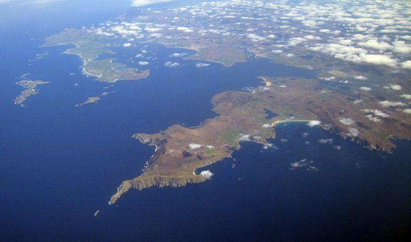 Achill Island, west coast of Ireland, 4 May 2005