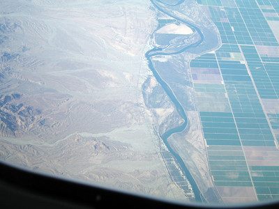 Halfway Bend, Colorado River. 9 Apr 2007.