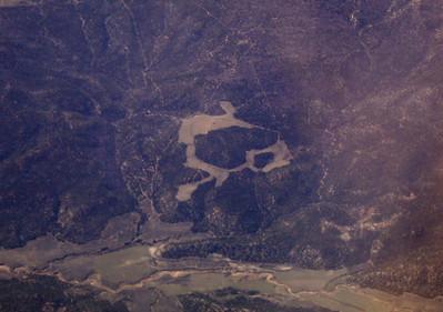 Feature south of Alton, UT. 9 Apr 2007.