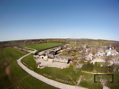 The Bristol Renaissance Faire is located off I-94 near the Illinois / Wisconsin Border. This Aerial image was captured by suspending a GoPro HD Hero camera from a Kite.  © Copyright m2 Photography - Michael J. Mikkelson 2009. All Rights Reserved. Images can not be used without permission.