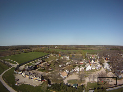 The Bristol Renaissance Faire is located off I-94 in the town of Bristol, Wisconsin. Getting the aerial perspective is as easy as suspending a GoPro HD Hero camera from a Kite.  © Copyright m2 Photography - Michael J. Mikkelson 2009. All Rights Reserved. Images can not be used without permission.