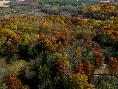 Aerial kite camera images of the fall foliage near Silver Lake, Wisconsin.  © Copyright m2 Photography - Michael J. Mikkelson 2009. All Rights Reserved. Images can not be used without permission.