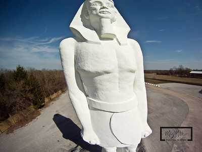 60+ foot Statue of Ramses  © Copyright m2 Photography - Michael J. Mikkelson 2009. All Rights Reserved. Images can not be used without permission.