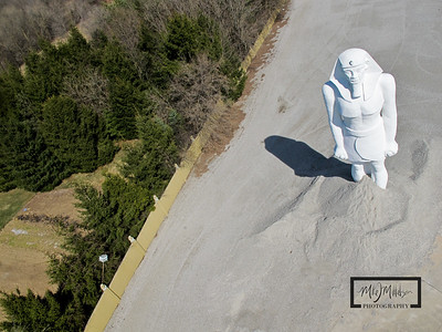 Looking down at Onan's Ramses Statue  © Copyright m2 Photography - Michael J. Mikkelson 2009. All Rights Reserved. Images can not be used without permission.