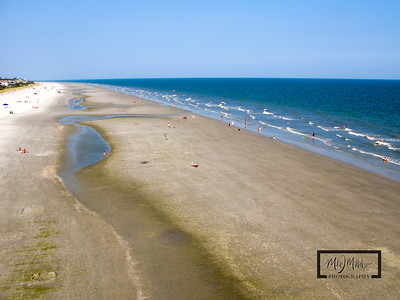Hilton Head Island Beach Near Coligny Plaza  © Copyright m2 Photography - Michael J. Mikkelson 2009. All Rights Reserved. Images can not be used without permission.