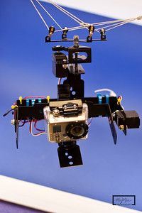 GS-1 Servo stabilized KAP rig with GoPro HD Hero, and Booxes.com parts.  © Copyright m2 Photography - Michael J. Mikkelson 2009. All Rights Reserved. Images can not be used without permission.