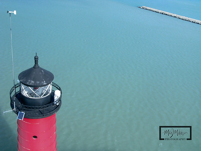 Kenosha Lighthouse on Lake Michigan  © Copyright m2 Photography - Michael J. Mikkelson 2009. All Rights Reserved. Images can not be used without permission.