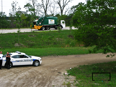 Lake Villa Police stopped by for a chat  © Copyright m2 Photography - Michael J. Mikkelson 2009. All Rights Reserved. Images can not be used without permission.