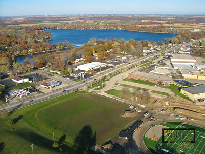 Aerial images from Kite Camera of Paddock Lake, Wisconsin in the fall.  © Copyright m2 Photography - Michael J. Mikkelson 2009. All Rights Reserved. Images can not be used without permission.