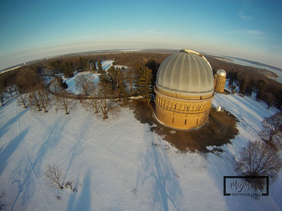 Yerkes Observatory in Williams Bay, Wisconsin near Lake Geneva.  © Copyright m2 Photography - Michael J. Mikkelson 2009. All Rights Reserved. Images can not be used without permission.
