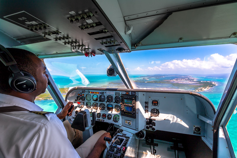 Captain Broaster on approach to SPR