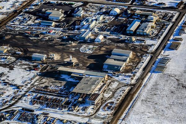 North Corman Industrial Park Aerial