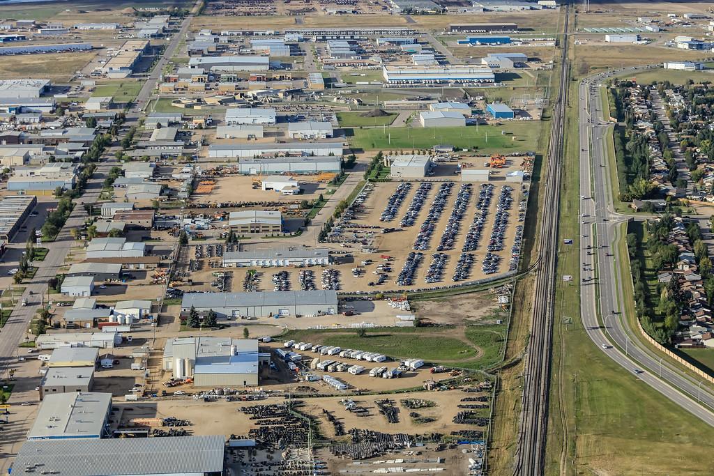 North Industrial Aerial