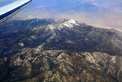Red Tahquitz in foreground, Mt. San Jacinto in background; 20 May 2010