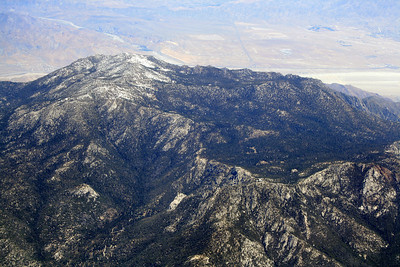 Mt. San Jacinto, Tahquitz Peak and Lily Rock in foreground; 20 May 2010