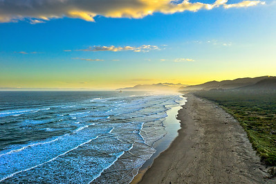 Rockaway Beach sunrise, Oregon