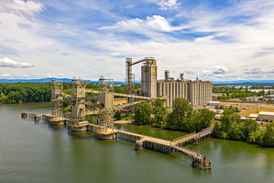 Columbia Grain Silos, Portland, Oregon