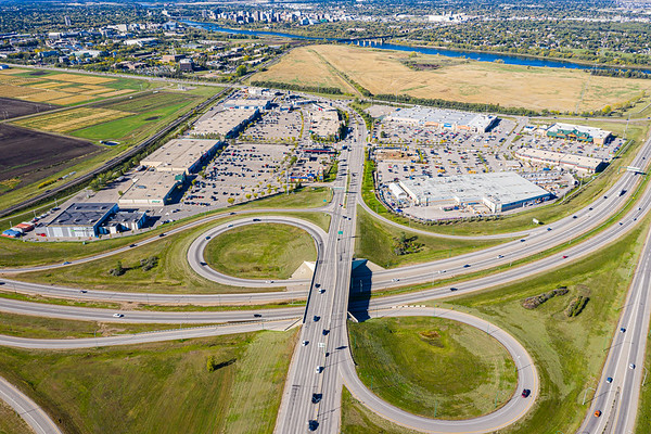 Preston Crossing Aerial