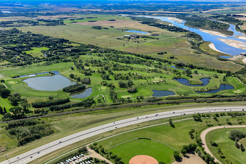 Saskatoon Golf & Country Club Aerial