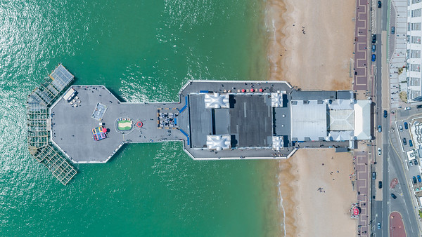 Southsea Pier Overhead
