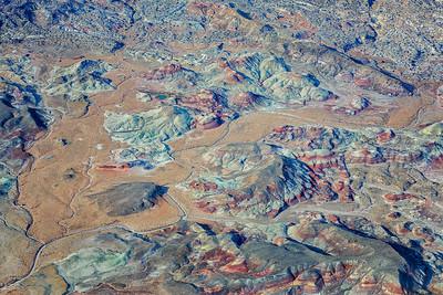 Bentonite Hills Capitol Reef, Utah