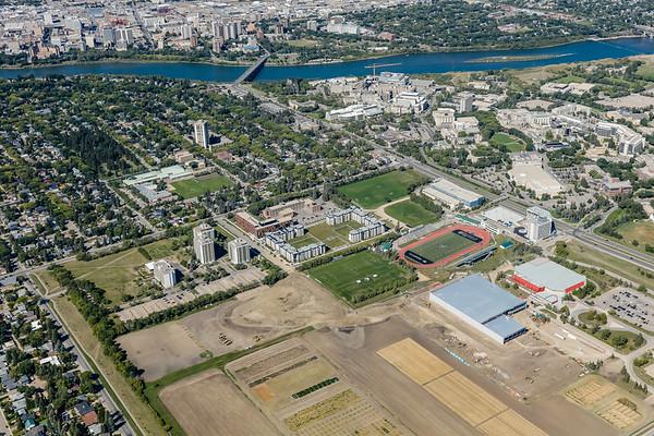 Varsity View Aerial