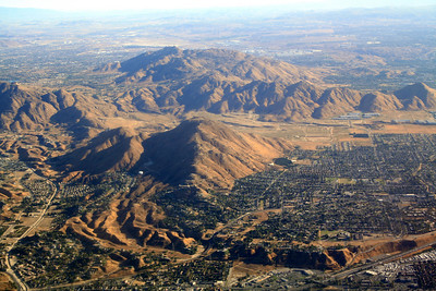 Blue Mountain, Box Springs Mountains and Grand Terrace, 14 Oct 2008