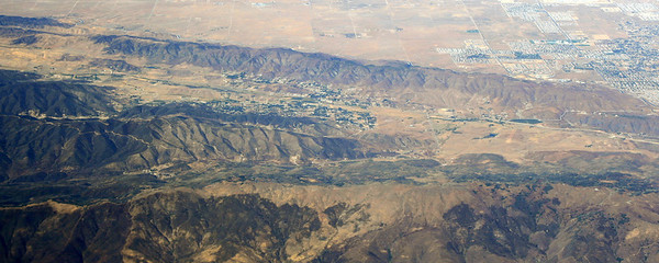 San Andreas Fault, near Palmdale; 10 Oct 2008