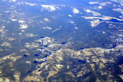 Dinkey Lakes and Courtright Reservoir, 14 Oct 2008