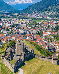 Montebello Castle, Bellinzona, Switzerland