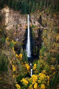 Autumn Multnomah Falls