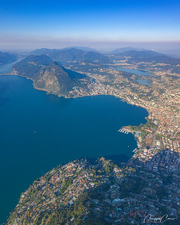 Lugano Gulf, Switzerland
