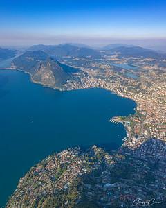 Lugano Gulf, Switzerland