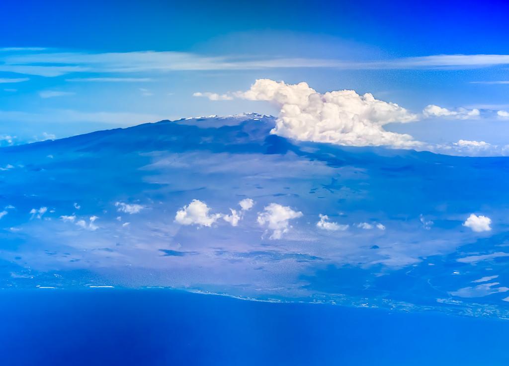Mauna Kea in Blue
