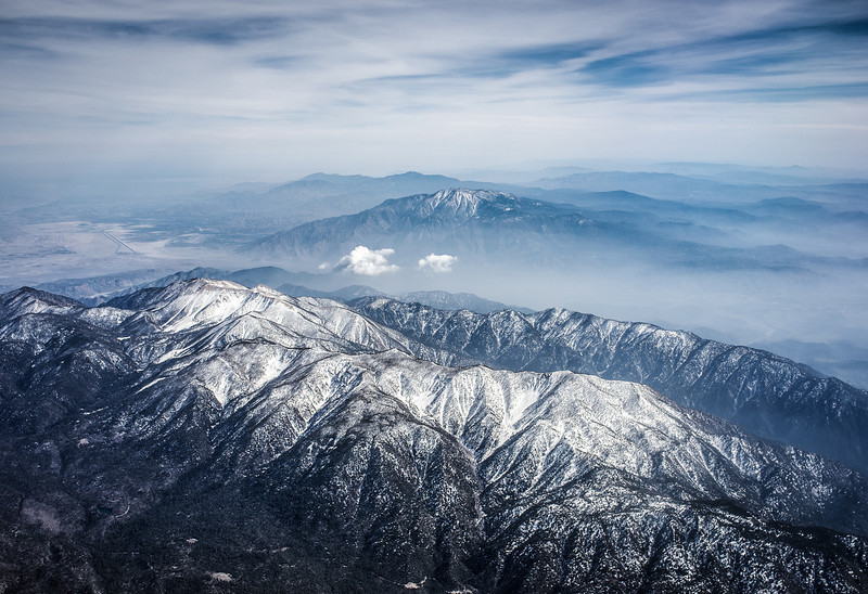 Over Mammoth Mountain