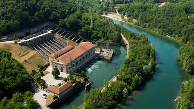 Fiume Adda: Centrale Idroelettrica Angelo Bertini