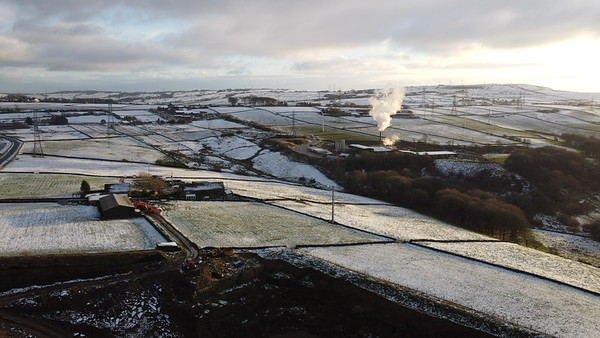 Aerial view of Yorkshire