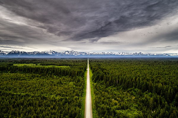 The Longest Road Above