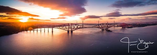 Winter Sun on the Bridges