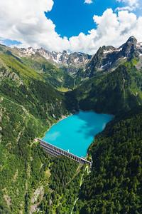 Valtellina: Diga e Lago Scais