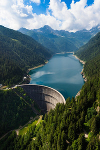 Valtellina: Lago Belviso e Diga Frera