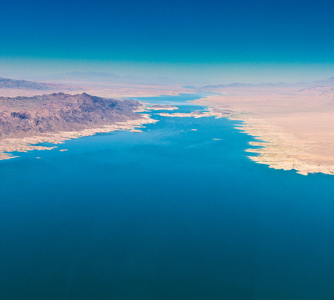 Over Lake Mead