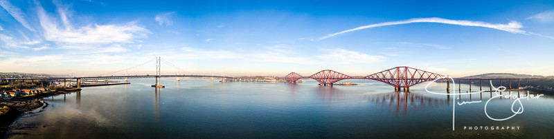 Forth Bridges Panorama
