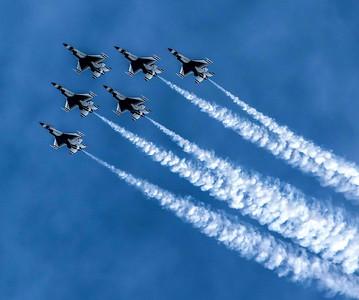 Air Show Jones Beach 2015 Thunderbirds