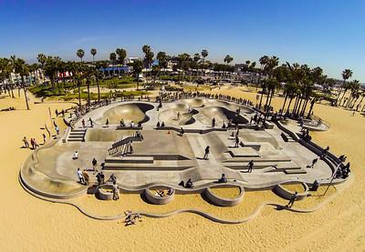 Venice Beach Skatepark, CA