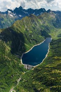 Valtellina: Diga e Lago Venina