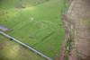 Carrawburgh  on Hadrians Wall from the air.