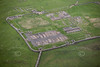 Housteads on Hadrians Wall from the air.