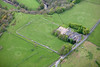Birdoswald  on Hadrians Wall from the air.