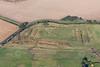 Aerial photo of Hawton Redoubt earthworks-1